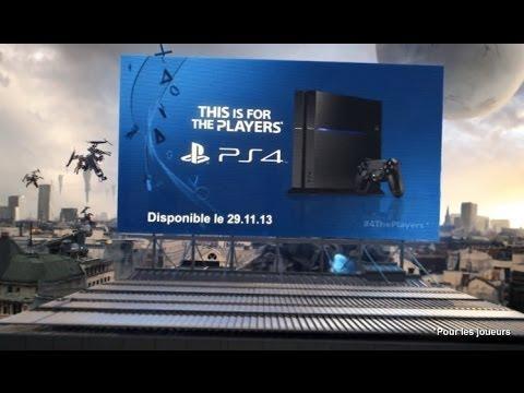 Publicité de lancement PS4 60 secondes - #4ThePlayers [VF]