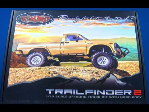 RC ADVENTURES - SCALE RC TRUCK - RC4WD Trail Finder 2 - 4X4 Toyota Hilux - BV1 UnBox & Roller Build