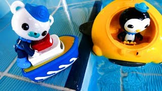 Die Oktonauten auf Deutsch - Wir spielen im Schwimmbad - Video für Kinder
