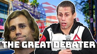 Urijah Faber can't win an argument..