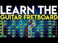 LEARN The Notes On The GUITAR Fretboard In 1 Day: EASIEST METHOD On YouTube. FRETBOARD MASTERY