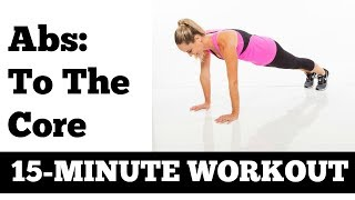 January Jump Start Workout #4: 15-Minute Abs and Core Workout - no equipment needed