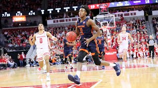 Top plays and illini sports network radio calls from the illini's 71-70 road win over wisconsin at kohl center on jan. 8, 2020.
