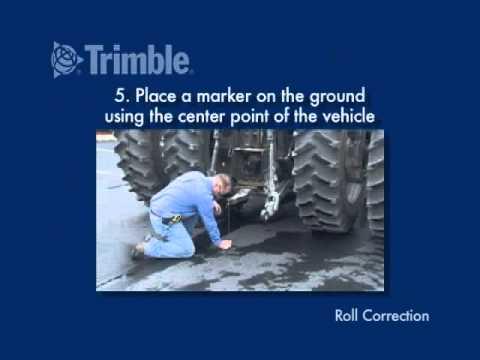 Trimble AutoPilot Roll Corrections