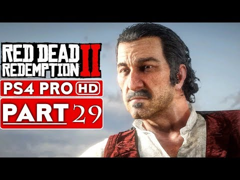 RED DEAD REDEMPTION 2 Gameplay Walkthrough Part 29 [1080p HD PS4 PRO] - No Commentary