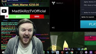 BEST DAY EVER & BIGGEST DONATION EVER! World of Warcraft Stream REACTION + Alpha Invite!