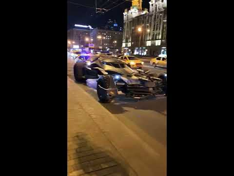Бетмен Мобиль Задержан В Центре Москвы - Полиция Задержала Бетмен Мобиль - Сенсация Москвы
