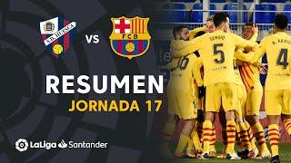 Resumen de SD Huesca vs FC Barcelona (0-1)