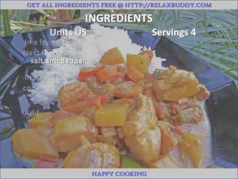 Micronesian Coconut Chicken Curry recipe
