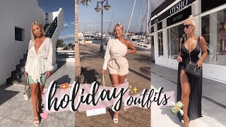 WHAT I WORE ON HOLIDAY / OUTFITS OF THE WEEK SUMMER 2019