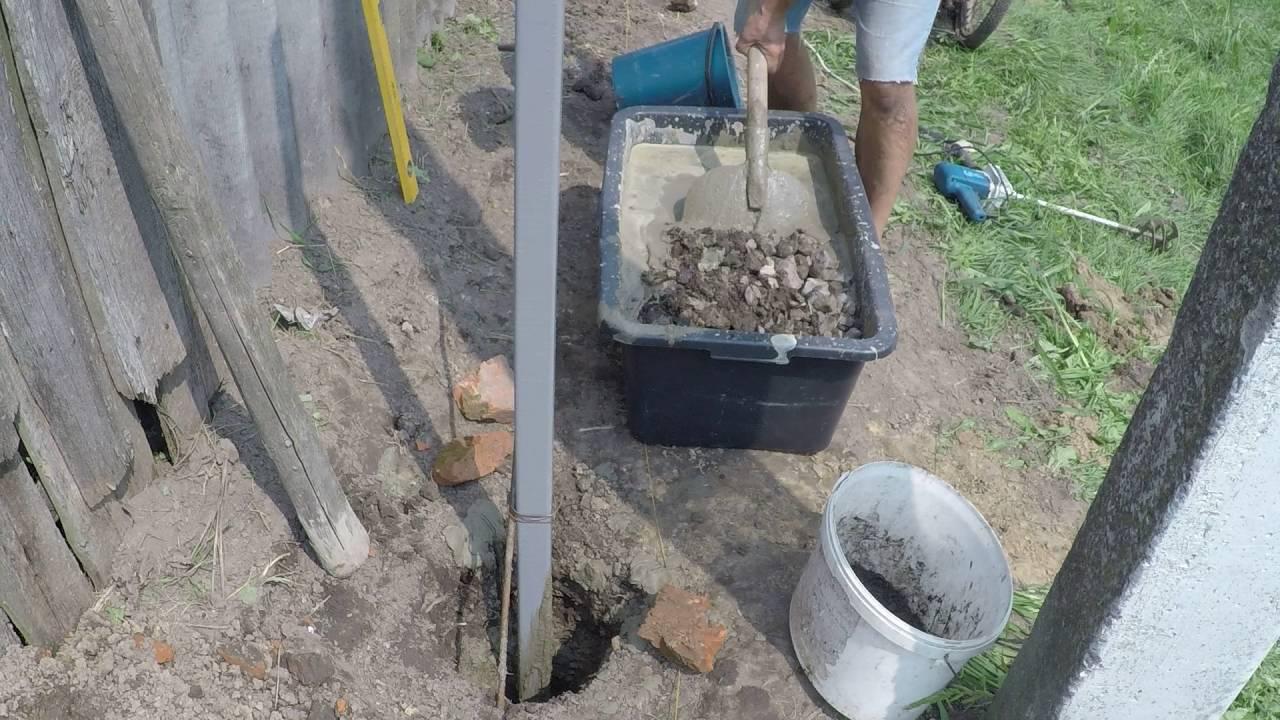 Бетонная смесь для заливки столбов бетон в30 характеристика