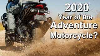 2020 - Year of the Adventure Motorcycle - New & Updated Models