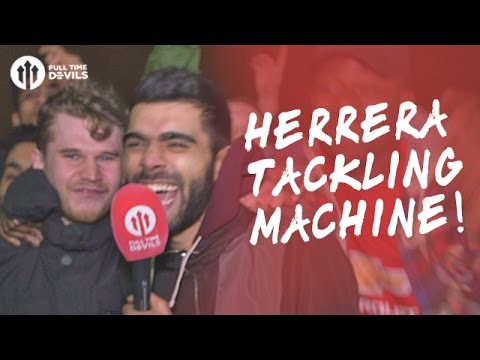 Herrera Tackling MACHINE! | Manchester United 3-2 Southampton | FANCAM