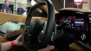 2020 Corvette C8 Stingray Infotainment Walkthrough