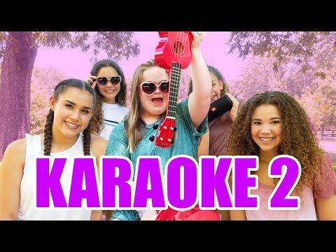 Try Not To Sing Along Challenge! (Sarah & Haschak Sisters Karaoke Part 2)