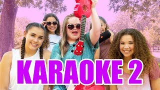 Try Not To Sing Along Challenge! (Sarah & Haschak Sisters Karaoke Part 2)