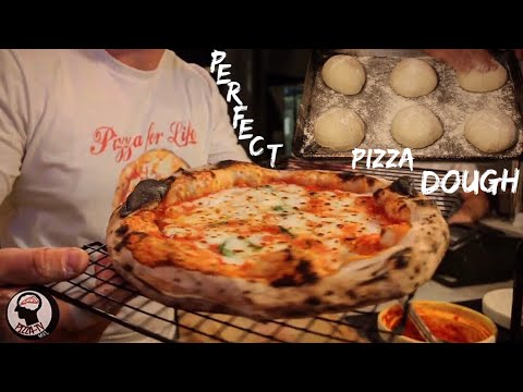 How To Make Perfect Pizza Dough With DRY YEAST - For The House