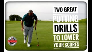 Two Great Putting Drills To Lower Your Scores