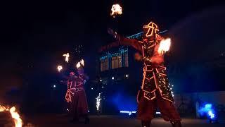 fire show Aurum