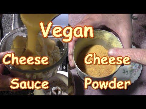 Vegan Cheese Sauce To Cheese Powder
