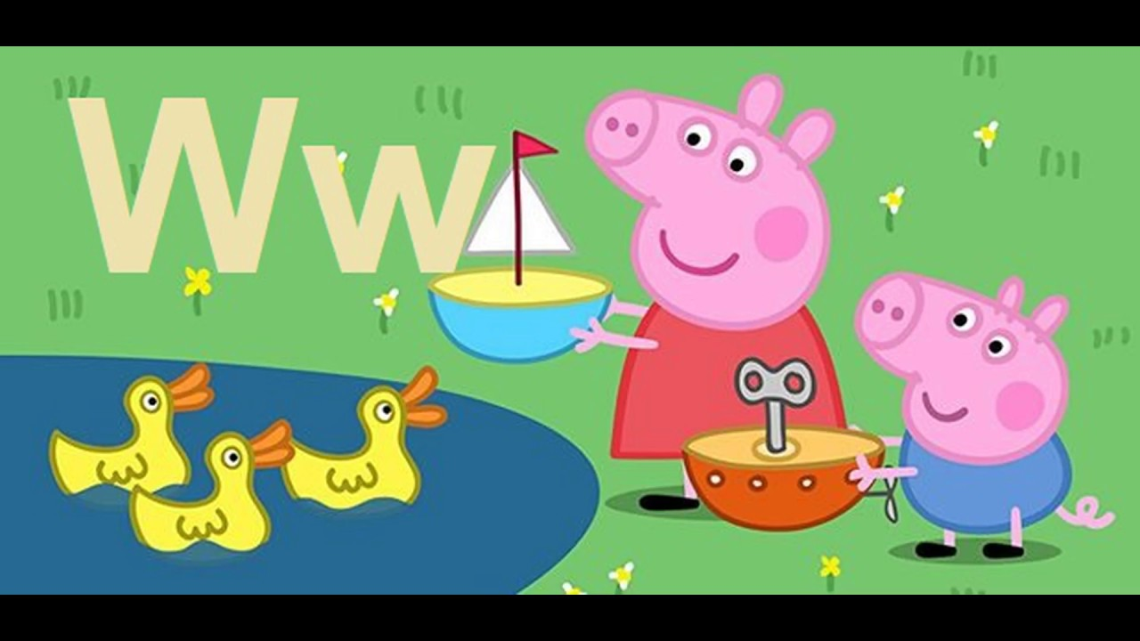Abc Song Peppa Pig Abc Alphabet Songs Abc Songs For Children English Alphabet Youtube