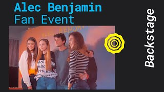 ALEC BENJAMIN - EXKLUSIVES FAN EVENT (BERLIN 2019)