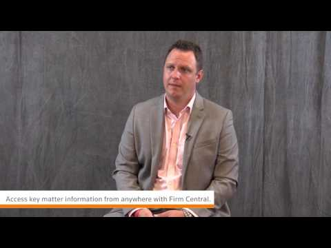 Thomson Reuters Firm Central - Mobile Accessibility