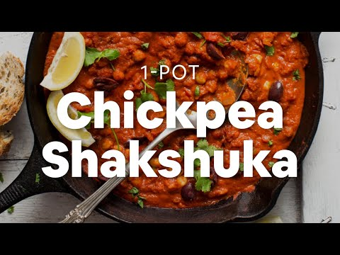 1 Pot Chickpea Shakshuka | Minimalist Baker Recipes