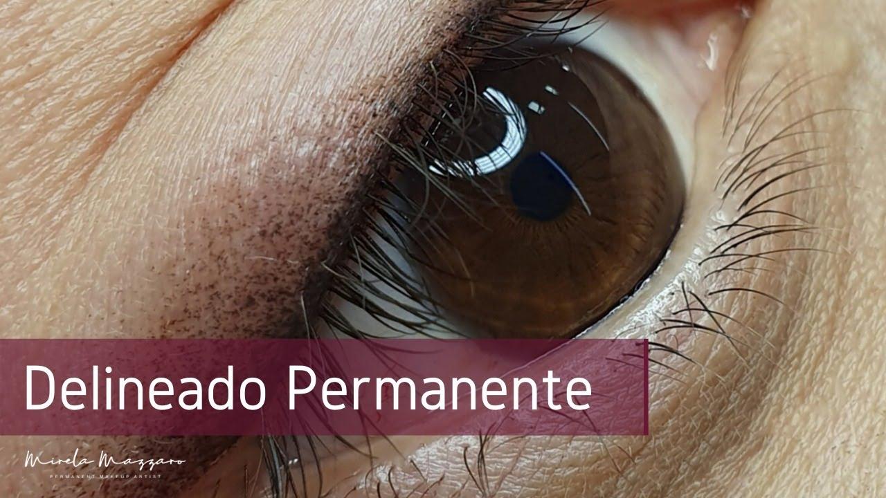 Micropigmentação nos OLHOS   Delineado Permanente   Mirela Mazzaro ...