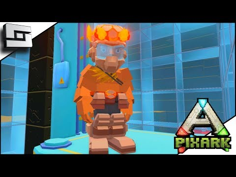 PIXARK! Elevators, Lava Armor, And A Mine-shaft! E9