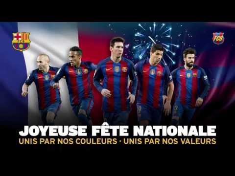 14 juillet - Fête Nationale française - Le Barça, pour vous, en français!