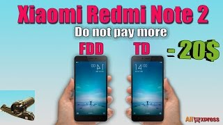 Xiaomi Redmi Note 2 ♦ Не плати за FDD. Do not pay for FDD. Unboxing(http://j.mp/1mcMBV7 - Xiaomi Redmi Note 2 FDD LTE http://bit.ly/1VMosUb - Xiaomi Redmi Note 2 TD LTE ==================== Я проверил , обе эти ..., 2015-12-27T17:31:16.000Z)
