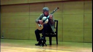 Gran solo Op. 14- Fernando Sor 2016.4.23 深沢区民センターホール  ZOOM Q3HD