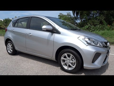 Фото к видео: 2018 Perodua Myvi 1.3 Standard G Start-Up and Full Vehicle Tour