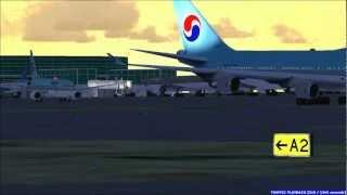 Korean Air Inaugural Flight from Incheon to Yangon