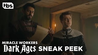 Miracle Workers: Dark Ages Episode 6 Exclusive Scene | TBS