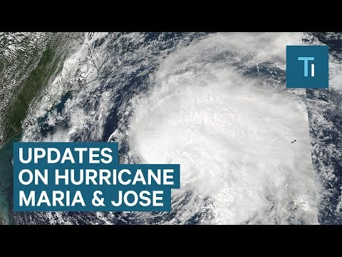 Here are the latest updates on Hurricane Maria and Hurricane Jose