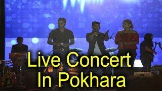बुद्ध निसान र प्रतापको पोखरामा लाइभ कन्सर्ट यस्तो देखियो ! Live Concert In Pokhara