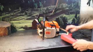 Chainsaw Guy Shop Talk Stihl Repair