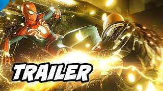 Spider-Man PS4 Gameplay Trailer - Cutscene and Infinity War Armor Explained
