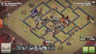 Clash of Clans TH9 DragLaLoon 3 STAR ATTACK