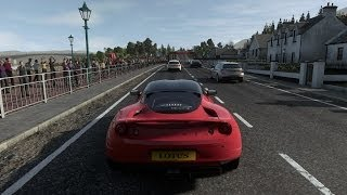 Driveclub Playstation 4 Gameplay with Lotus Evora S Sports Racer (The Kyle/Scotland) [720p]
