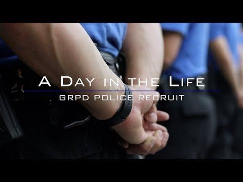 A Day In The Life: GRPD Police Recruit