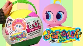 LOL Big Surprise CUSTOM Ball Distroller Babies DIY ! Toys and Dolls Fun for Kids | SWTAD