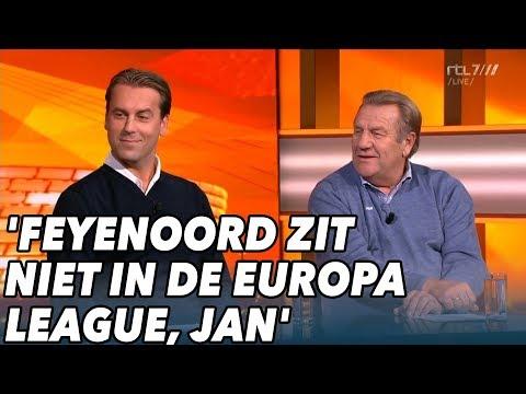 'Feyenoord zit niet in de Europa League, Jan' - VOETBAL INSIDE