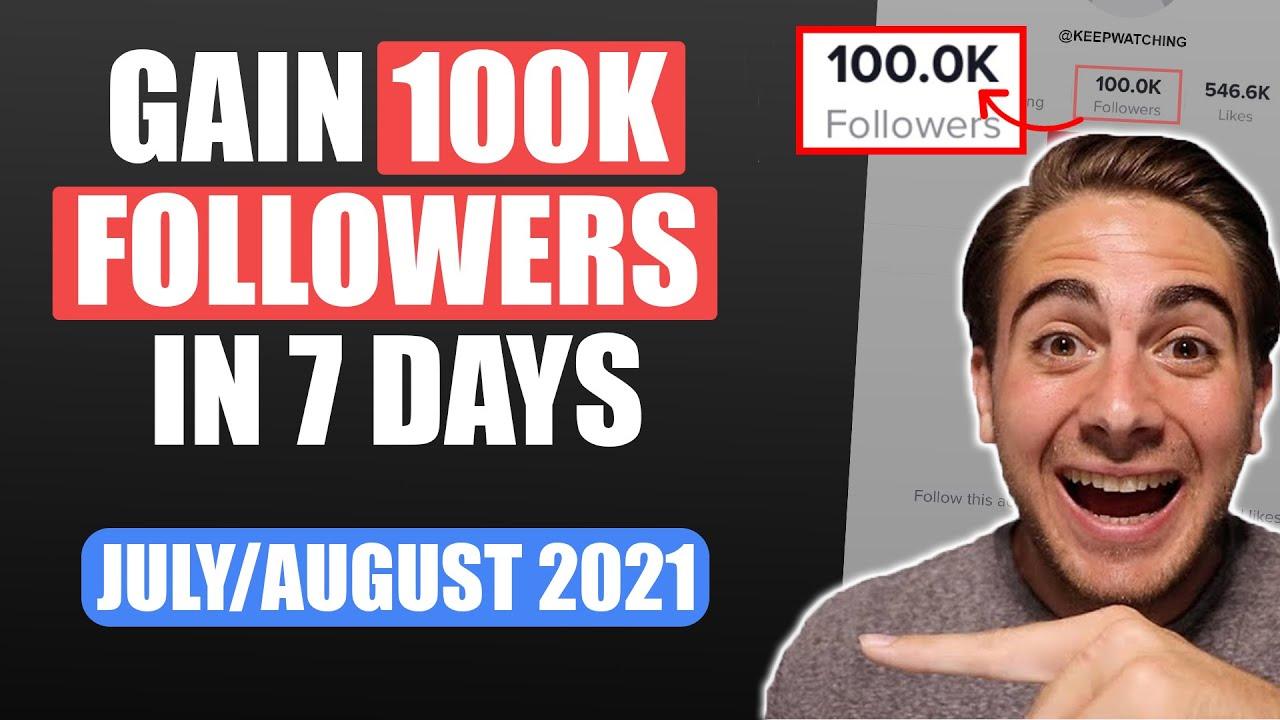Download 0-100K Followers on TikTok in ONLY 7 Days (TikTok Growth Hacks)