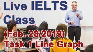 IELTS Live Class - Writing Task 1 - Line Graphs
