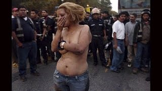Hırsız Kadın Halk Tarafından Bu Hale Getirildi