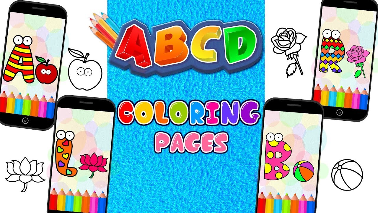 ABC Coloring Pages Books Games For Kids
