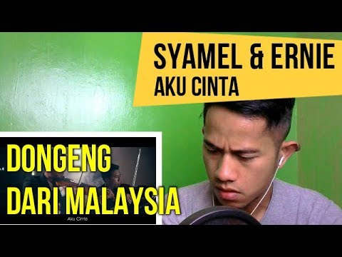 SYAMEL & ERNIE ZAKRI - AKU CINTA || MV REACTION #75